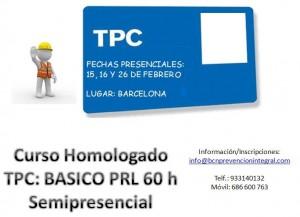 TPC BASICO barcelona